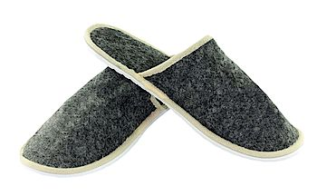 "SLIPPER LODEN EXCLUSIV ""STOCK ITEM"""